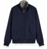 Scotch & Soda Chic reversible bomber jacket combo b blauw