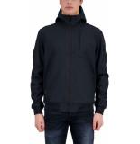 Airforce Softshell jacket dark navy blue blauw