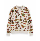Scotch & Soda All-over printed sweat in neps