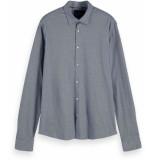 Scotch & Soda Regular fit- knitted dress shirt