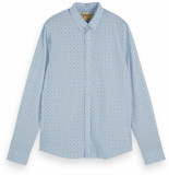 Scotch & Soda Shirt with mini all-over leafs