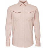 G-Star Arc 3d slim shirt l\s roze