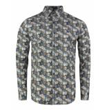 Gabbiano Shirt navy blauw