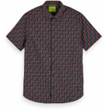 Scotch & Soda All-over printed shirt