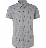 Noize Shirt, s/s, all over printed