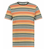 Kultivate T-shirt multistripe