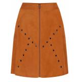 Tramontana Skirt suedine caramel