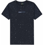 Kultivate T-shirt painter dark navy
