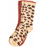 King Louie Socks 2 pack perky cherise
