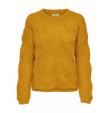 Only Onlhavana l/s pullover knt noos golden yellow