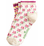 King Louie 2 pack socks fauna cream
