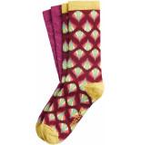 King Louie 2 pack socks namaste cherise red