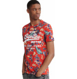 Superdry Super 5's tee red