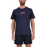 Airforce Line t-shirt dark navy blauw