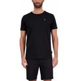 Airforce Basic outline star t-shirt true black/ white zwart