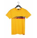 ANTWRP T-shirt racing yellow geel