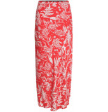Fabienne Chapot Laurie skirt coral &off white