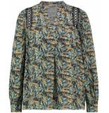 Aaiko Amira blouse bleached blue