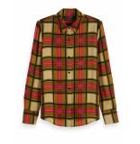 Maison Scotch Regular drapey fit shirt