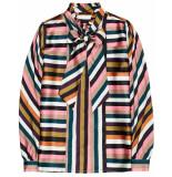 10 Feet Colour striped blouse