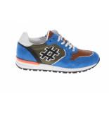 HIP H10 sneakers groen oranje blauw