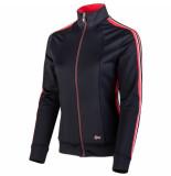 Sjeng Sports Ss lady fullzip top venise plus veniseplus-n024 blauw