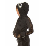 Papillon Jacket hooded in# dancein 732pk293-830 antraciet