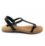 Lazamani 75.501 sandaal zwart