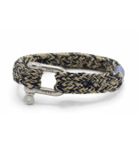 Pig & Hen P14-63204 armband gorgeous george navy-sand silver