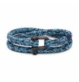 Pig & Hen P10-ss20-261633 armband salty steve sky blue - navy black blauw