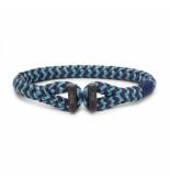 Pig & Hen P20-ss20-261822 armband icy ike sky blue - slate gray black blauw