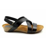 CASARINI 20028. sandaal zwart