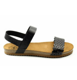 CASARINI 20500. sandaal zwart