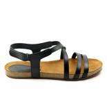CASARINI 19032. sandaal zwart