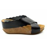 CASARINI 20012. slipper zwart