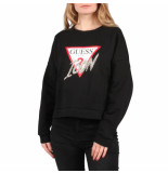 Guess Icon fleece zwart