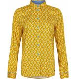 Numph Nualani shirt yellow geel