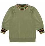10 Feet Round neck boxy pyll special sleeve moss groen
