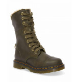 Dr. Martens Aimilita faux fur lined dms olive wyoming groen