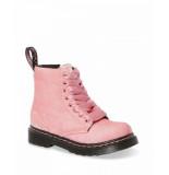 Dr. Martens 1460 t velvet pale pink velvet roze