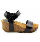 CASARINI 20016. sandaal zwart