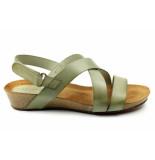 CASARINI 20028. sandaal groen