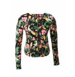 Mooi Vrolijk Vest short flowers