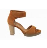 Paul Green Damesschoenen sandalen bruin