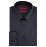 Hugo Overhemd met lange mouwen antraciet