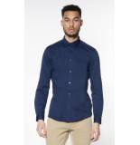 Drykorn Casual overhemd met lange mouwen blauw