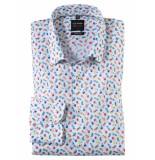 Olymp Level 5 bodyfit overhemd shirt print 202154-00