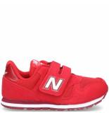 New Balance 373 klittenbandschoen rood