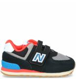New Balance 574 klittenbandschoen zwart
