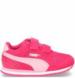 Puma St runner v2 klittenbandschoen roze
